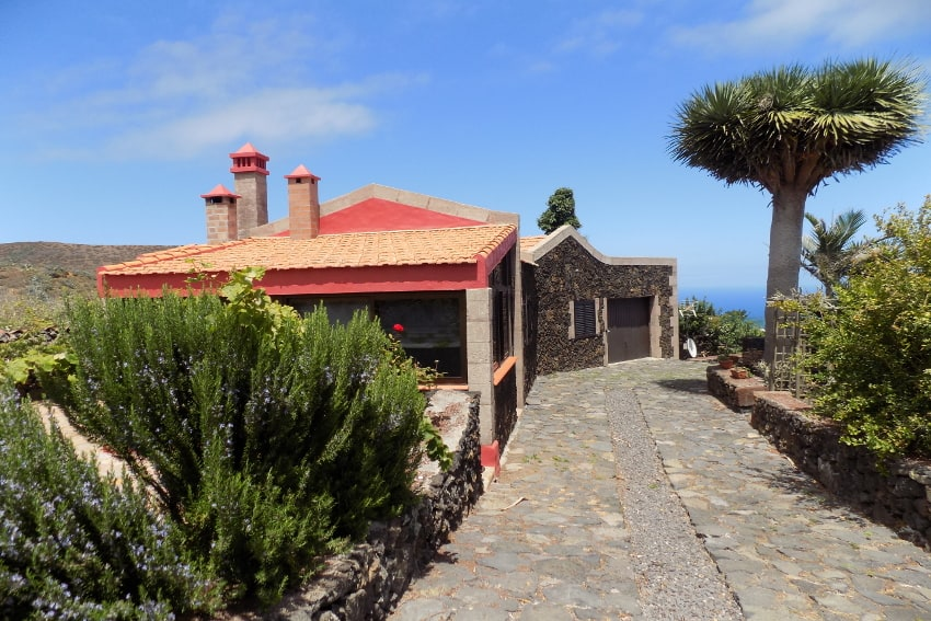 Spain - Canary Islands - El Hierro - Valverde - Casa La Florida 1 - Entrance
