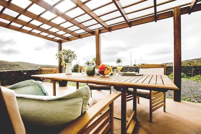 Casita de Papel, Terrace, Holiday Home La Gomera
