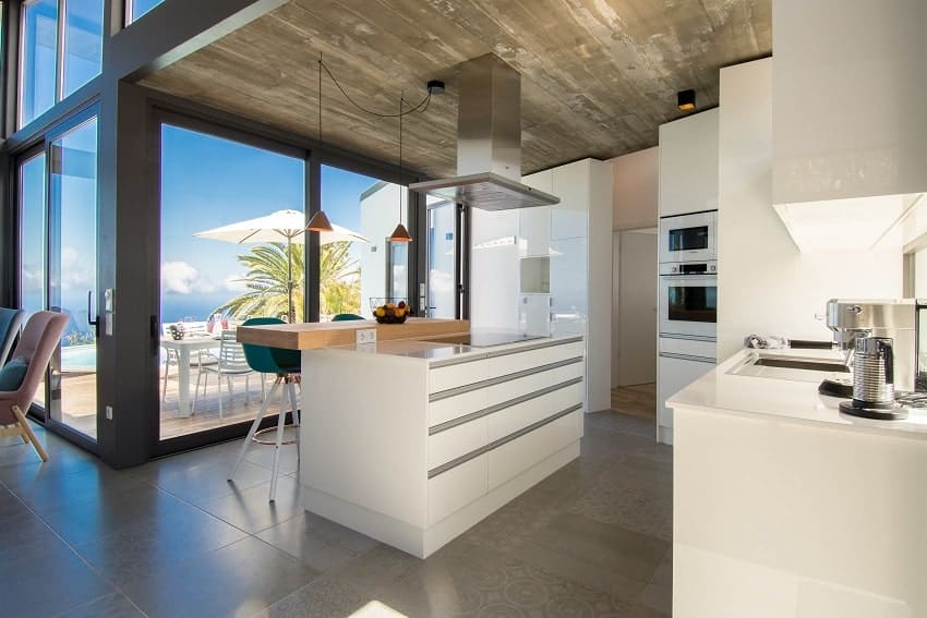 Kitchen, Villa Hahn, Villa La Palma