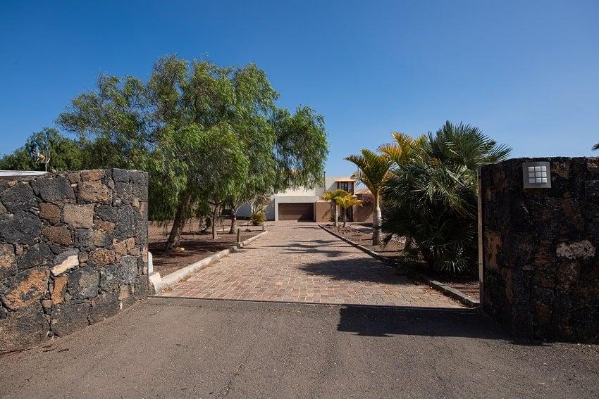Entrance, Villa Atlanntes, Villa Fuerteventura