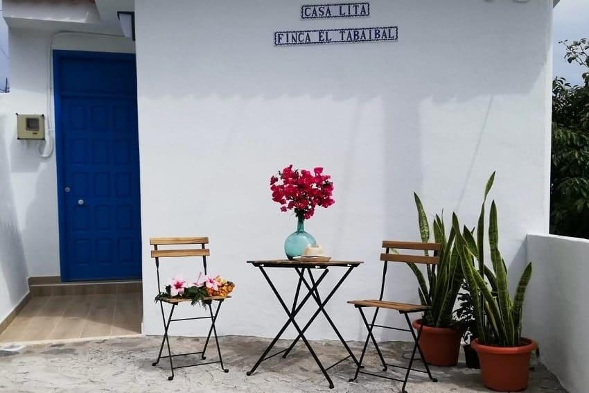 Entrance, Casa Lita, Holiday Cottage La Gomera