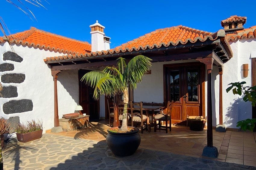 Entrance, Finca Esperanza, La Palma