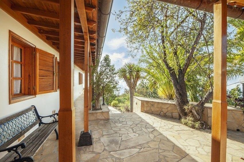 Entrada, Casa Rural Tijarafe