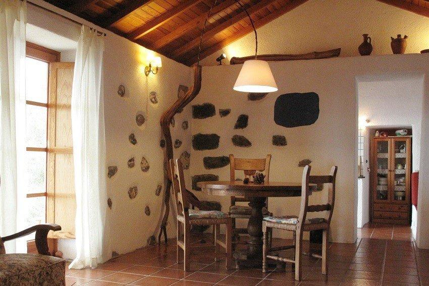 Dining Area, Casa El Tabaibal, Accommodation La Gomera