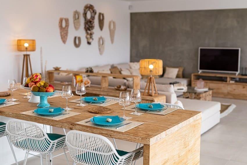 Dining Area, Villa Odo, Villa Fuerteventura