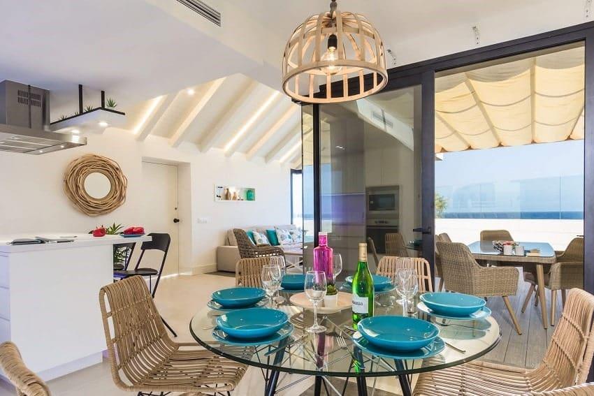 Dining Area, Villa del Mar, Villa Caleta de Fuste