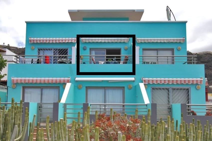 Spanien - Kanarische Inseln - La Palma - Puerto Naos - Apartment Brisa del Mar - Apartment im 1. Stockwerk Mitte