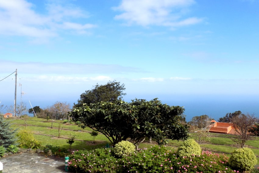 Spain - Canary Islands - La Palma - Mazo - Villa Monte Breña - Amazing sea views towards Tenerife and La Gomera