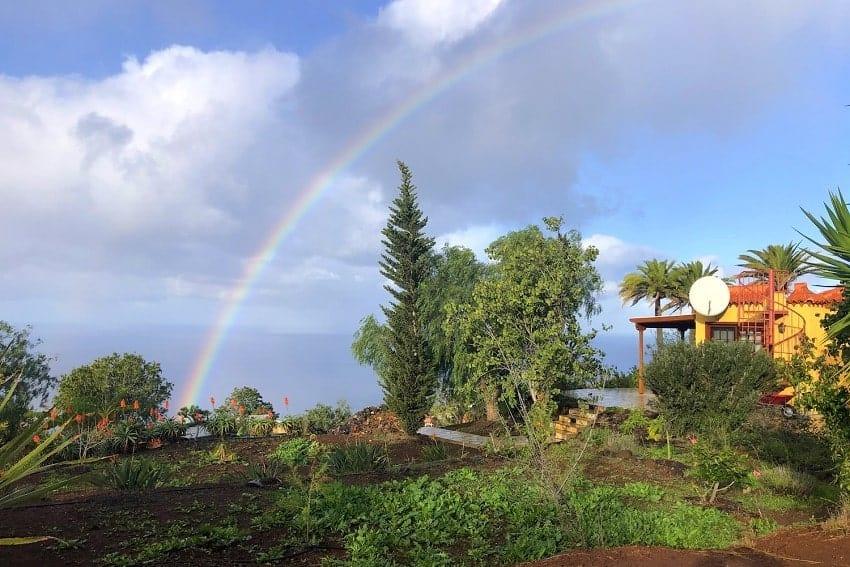 Garden, Casa Caracol, Holiday Cottage Tijarafe