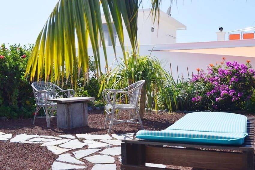 Garden, Casa Vista Caldera, Country House La Palma