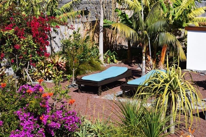 Garden, Casa Vista Caldera, Country House La Palma with Pool