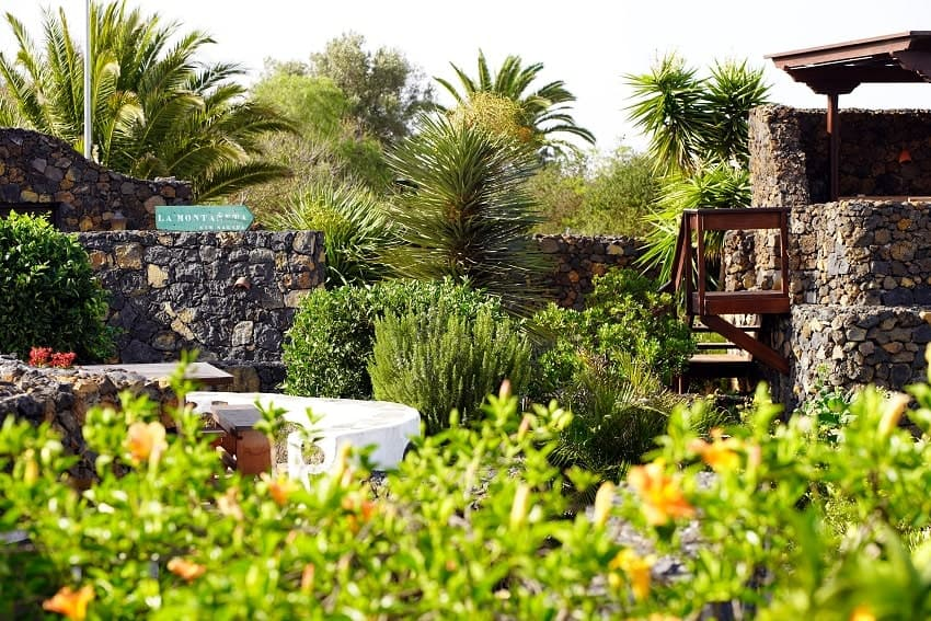 Garten, Finca Esperanza, La Palma