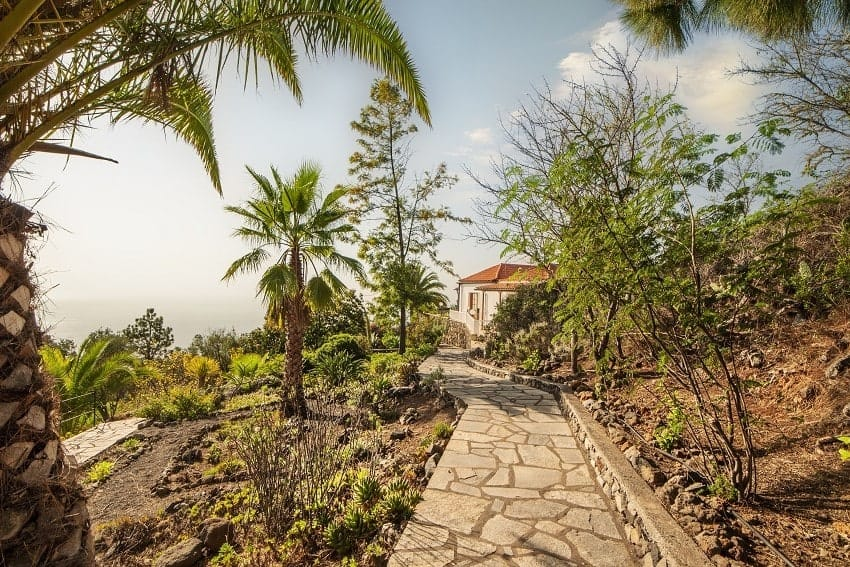 Jardín, Casa Rural Tijarafe