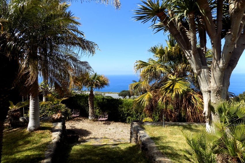 Spain - Canary Islands - La Palma - La Punta - Casa La Gorgonia - beautiful holiday home surrounded by a tropical garden in the best climate zone of the island