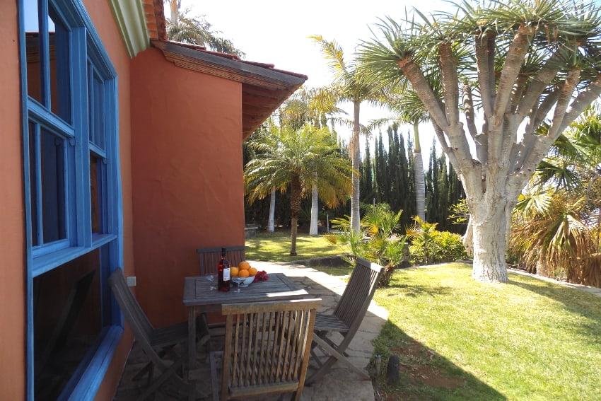 España - Islas Canarias - La Palma - La Punta - Casa La Gorgonia - Casa rural en una zona tranquila con un precioso jardìn subtropical