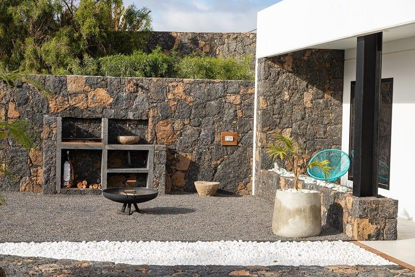 Grill Area, Villa Odo, Villa Fuerteventura