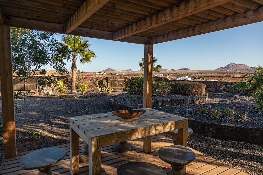 Grill Area, Casa Brixio, Holiday Home Fuerteventura