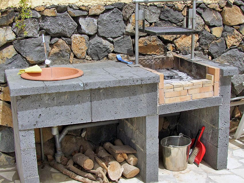 Barbecue Casita Papaya