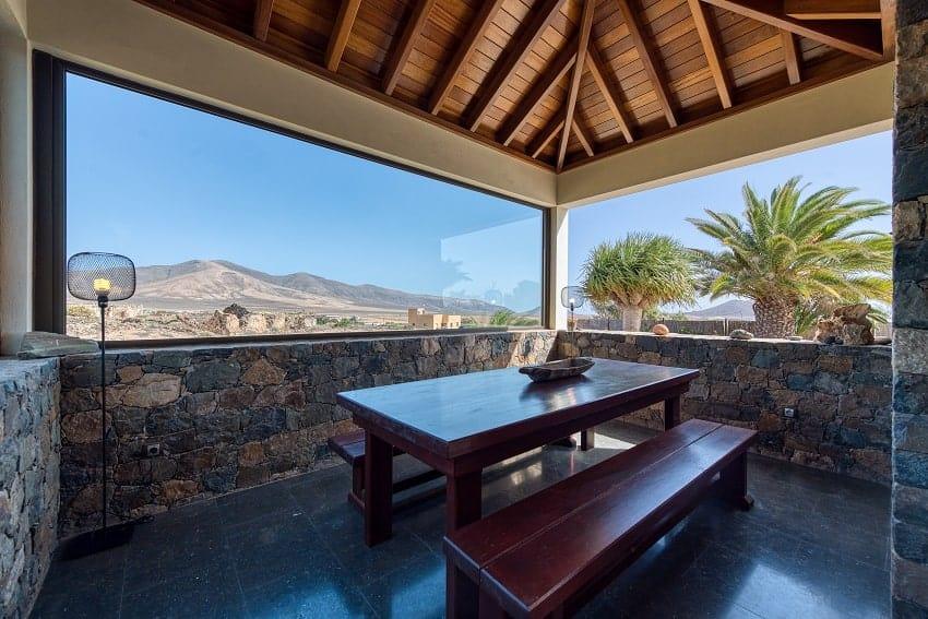 Grill Area, Villa Atlanntes, Villa Fuerteventura