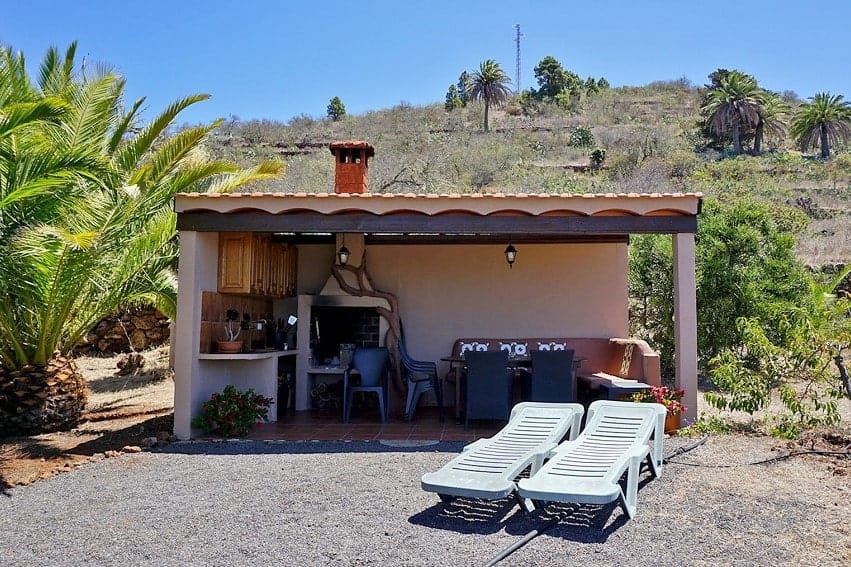 Barbecue, Casita Nidi, Holiday Home on La Palma