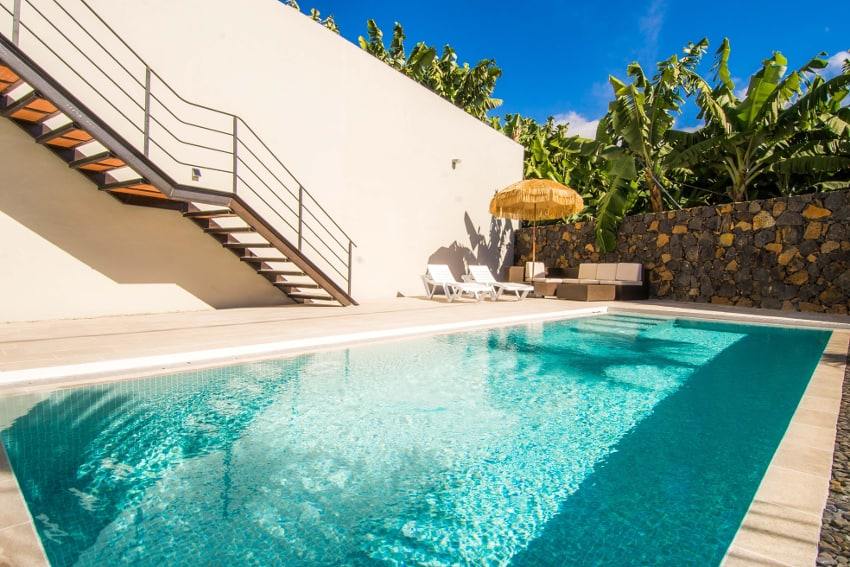 Spain - Canary Islands - La Palma - Tazacorte - Casa Alma Marina - private saltwater pool