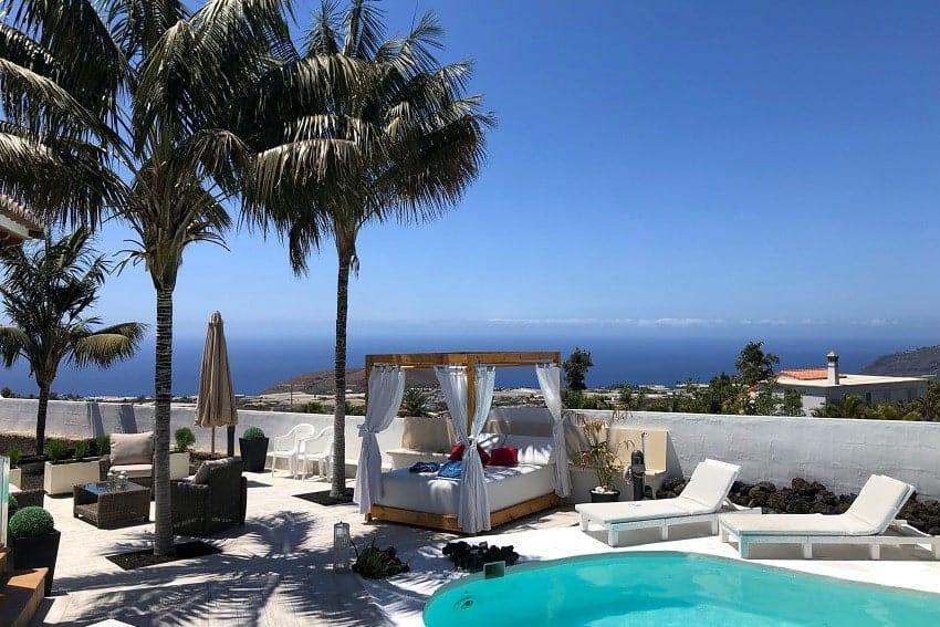 Lounge, Villa Tajuya, Holiday Home La Palma