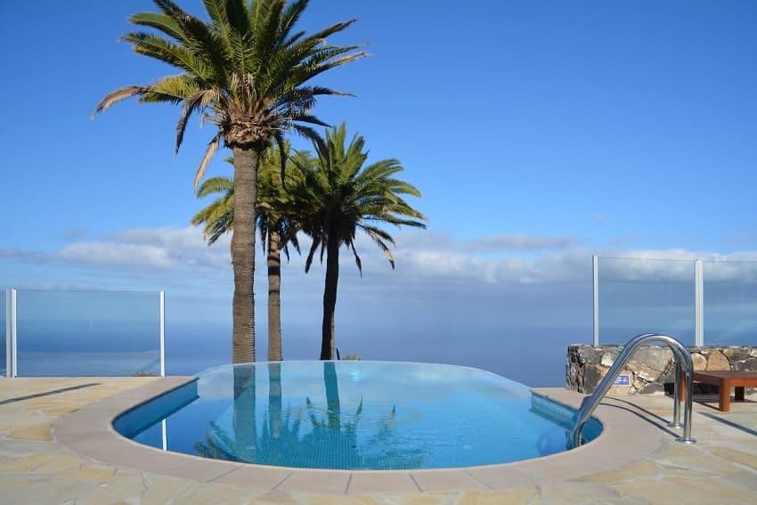 Infinity-Pool, Casa Caracol, Holiday Cottage Tijarafe