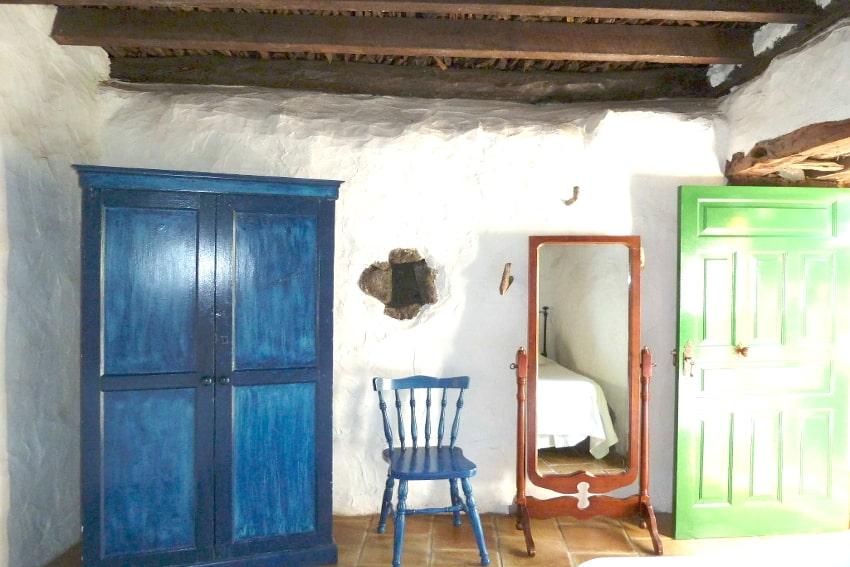 Spain - Canary Islands - El Hierro - Los Llanillos - Casa Pepe Luis - Bedroom