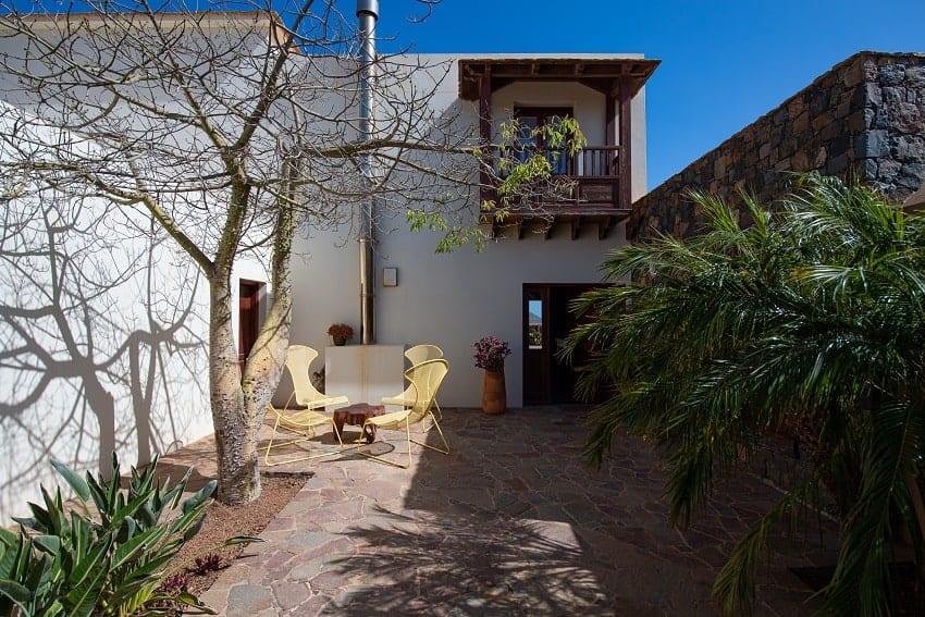 Patio, Villa Atlanntes, Villa Fuerteventura