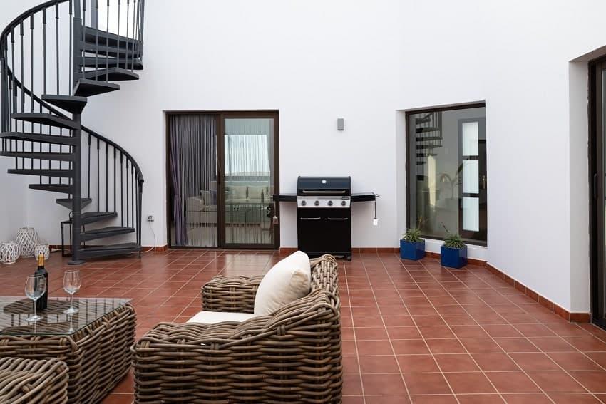 Innenhof, Villa Kira, Fuerteventura