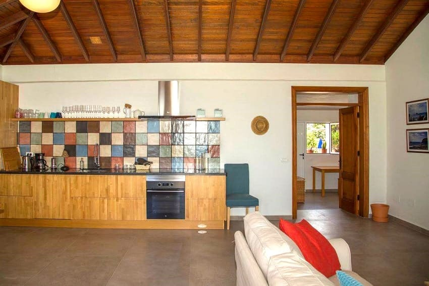 Kitchen, Casa Albersequi, Holiday Home La Gomera