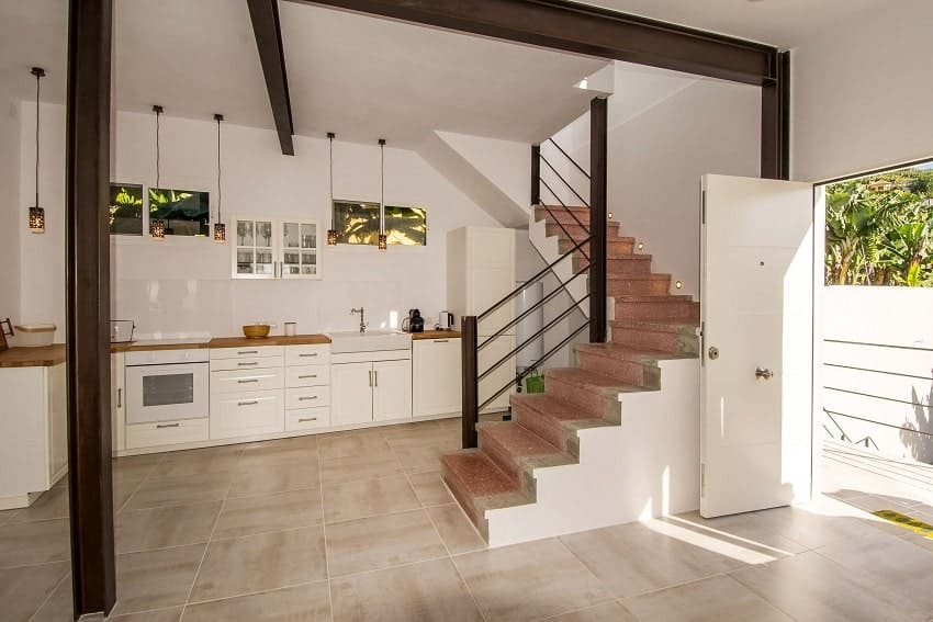 Küche, Casa Alma Marina, Stadthaus Tazacorte