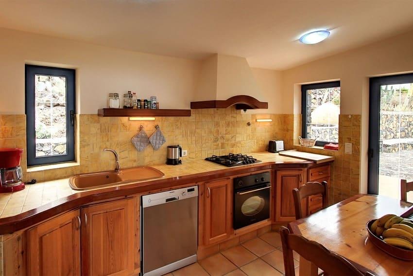Kitchen, Casa Amalia, Holiday Home La Palma