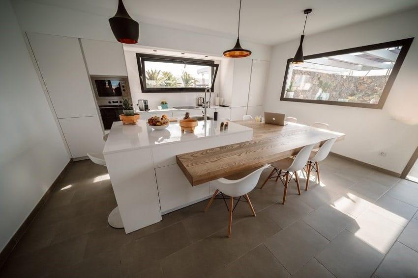 Cocina, Casa Los Lajares, Villa Lajares