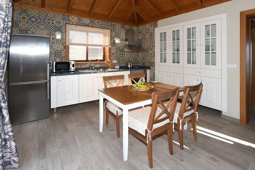 Küche, Casa Pastor, Ferienhaus Tijarafe, La Palma