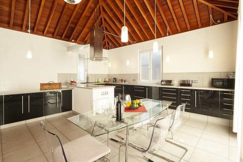 Kitchen, Casa San Borondon, Luxury Holiday Home La Palma