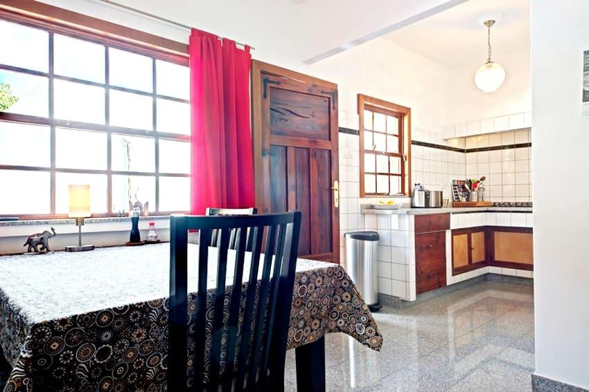 Kitchen, Casa Vista Caldera, Country House La Palma
