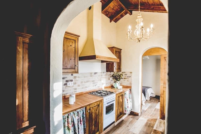 Kitchen, Casita de Papel, Holiday Home La Gomera