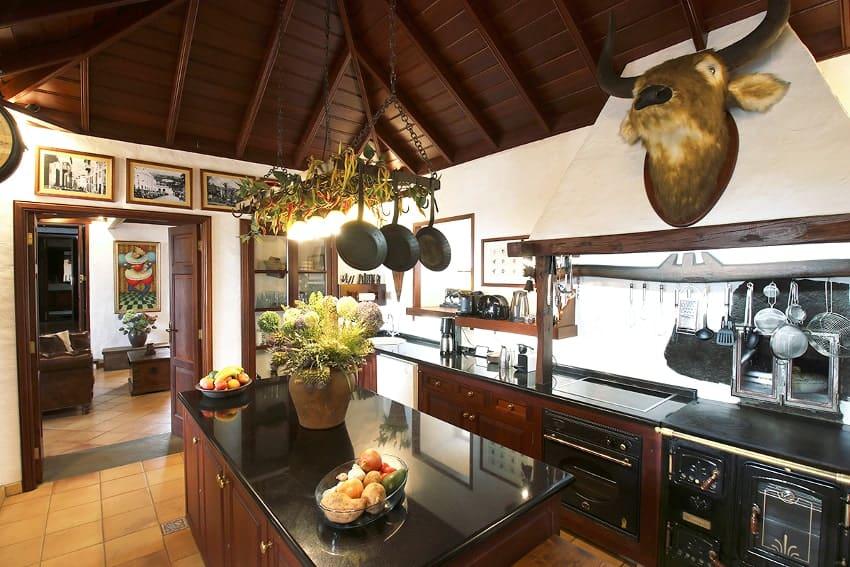 Kitchen, Finca Esperanza, Finca La Palma, El Paso