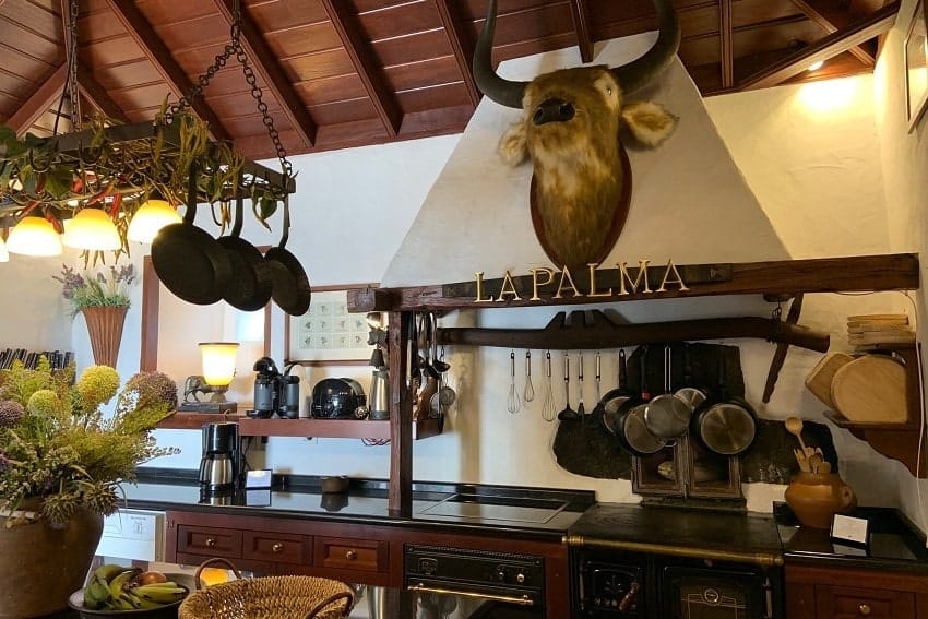 Küche, Finca Esperanza, La Palma