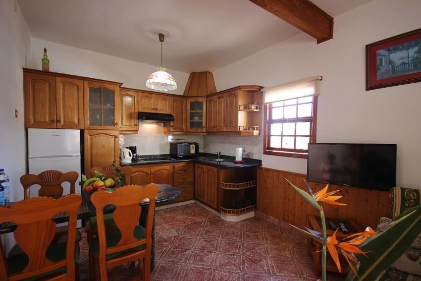 Kitchen, Finca Los Dos Patos B, Finca La Palma
