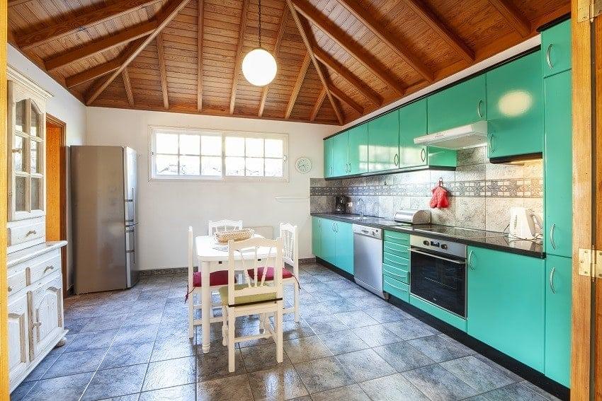 Cocina, Casa Rural Tijarafe