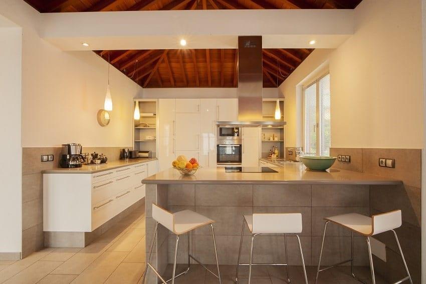 Kitchen, Villa Alegranza, Villa Tijarafe with Pool