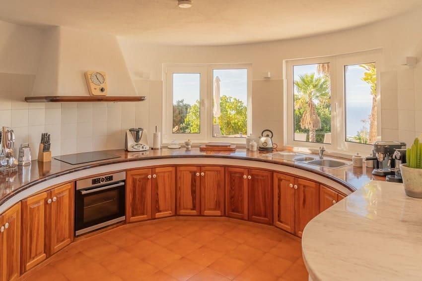 Küche, Villa Don Miguel, Villa La Palma