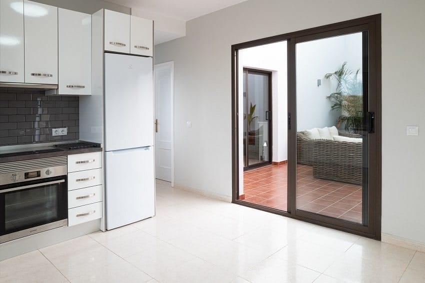 Küche, Villa Kira