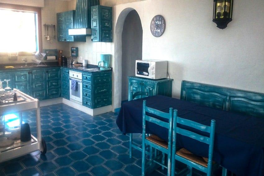 Cocina, Villa Manrique, Villa César Manrique