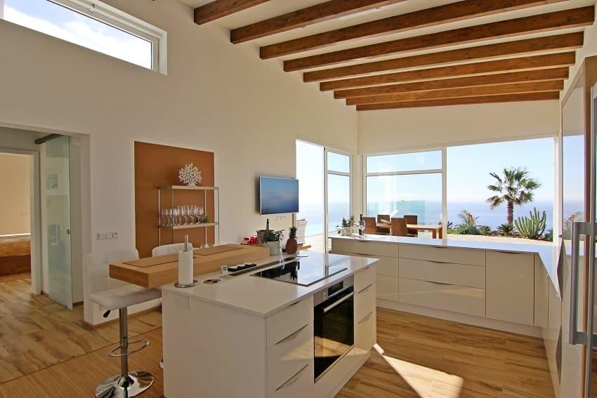 Kitchen, Villa Perla del Mar, Villa Puntagorda, La Palma