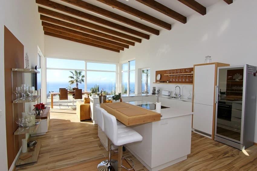 Kitchen, Villa Perla del Mar, Villa Puntagorda