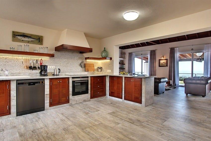 Kitchen, Villa Royal, Villa La Palma