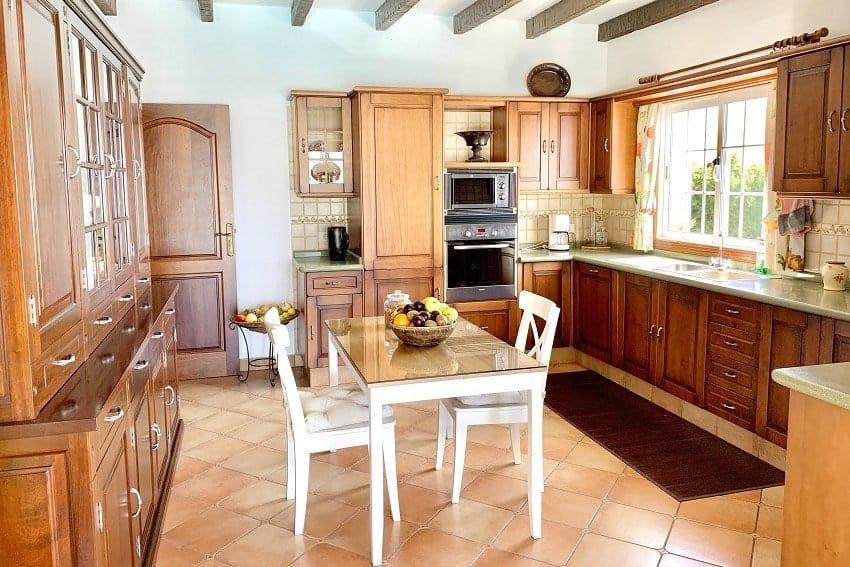 Küche, Villa Tajuya, Ferienhaus La Palma